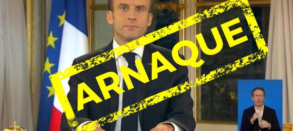 Les comptes tordus de Macron