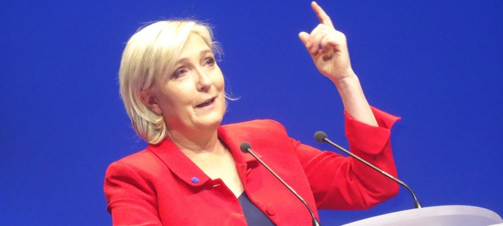 Le Pen rejoint l'Union européenne
