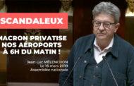 VIDÉO - Scandale : Macron privatise nos aéroports à 6h du matin