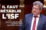 VIDÉO - Il faut rétablir l'ISF