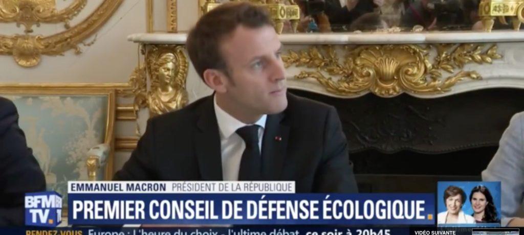 «Conseil de défense écologique» : la nouvelle trouvaille de Macron pour cacher son inaction
