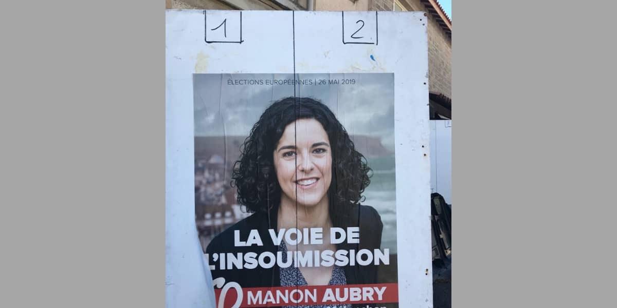 À Marseille, les panneaux d'affichage officiels pour les européennes divisés en deux. Une pantalonnade grotesque !