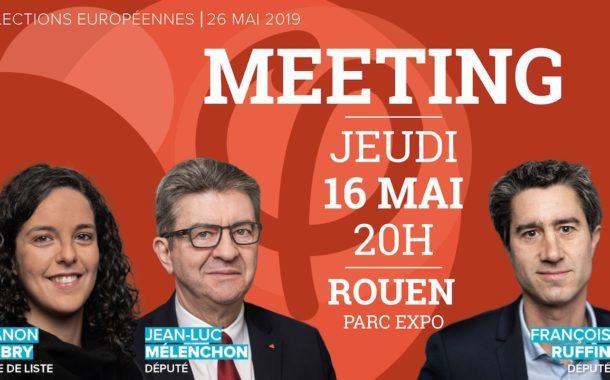 EN DIRECT - Meeting #RouenFi avec Manon Aubry, Jean-Luc Mélenchon et François Ruffin