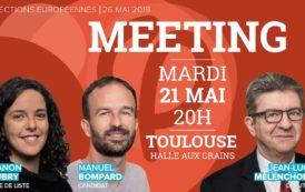 EN DIRECT - Meeting #ToulouseFi avec JL. Mélenchon, M. Aubry et M. Bompard