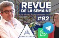 Revue de la semaine #92 : ADP, WhatsApp, 26 mai, sondages, «Blitzkrieg» de Loiseau, Moselle, jour du dépassement