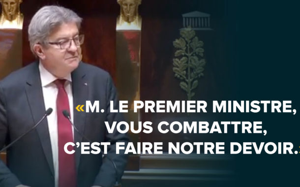 melenchon face a philippe