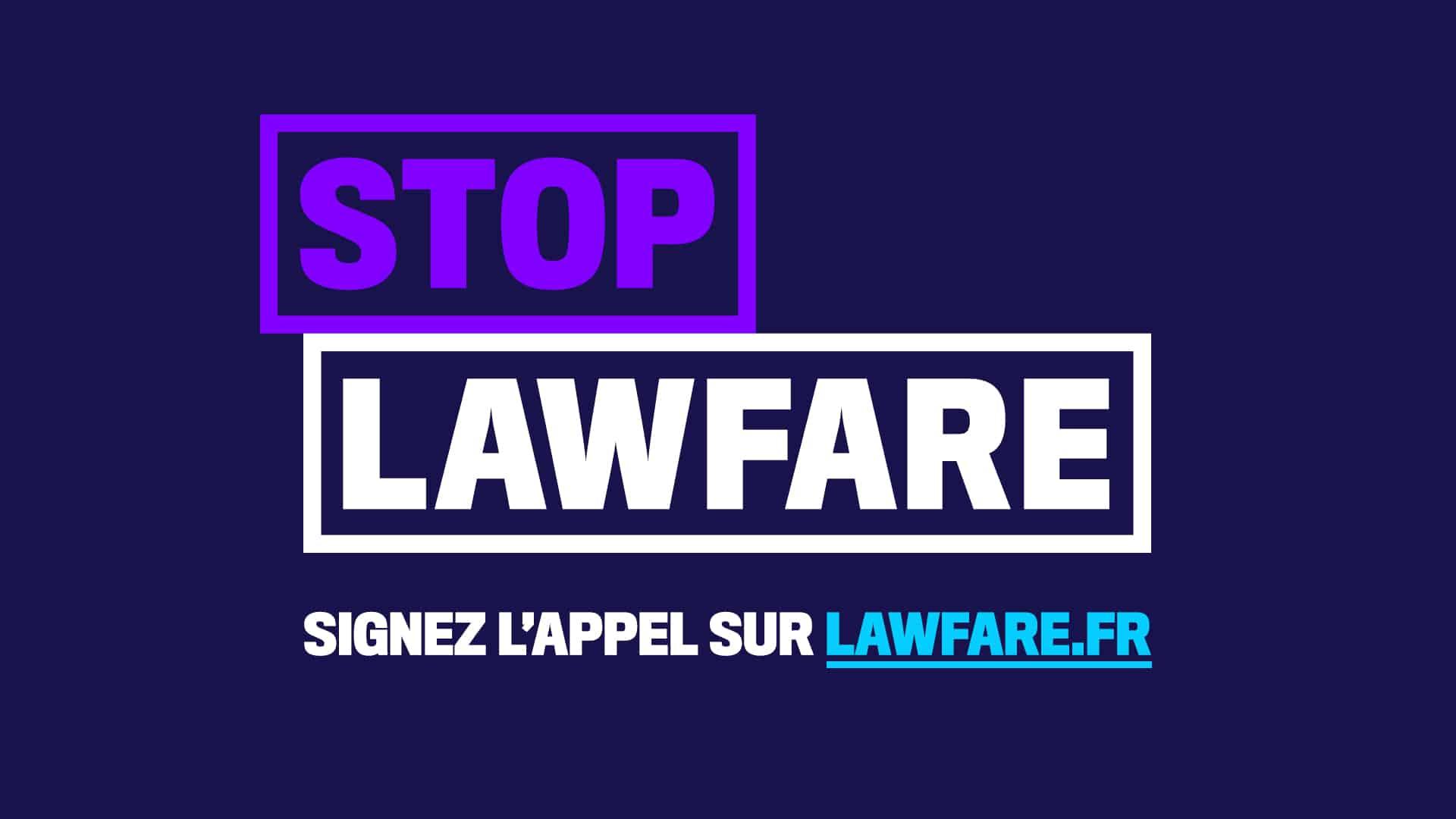 stop lawfare
