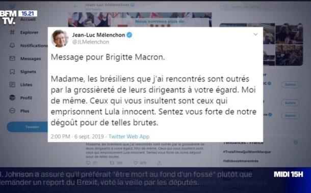 tweet brigitte macron