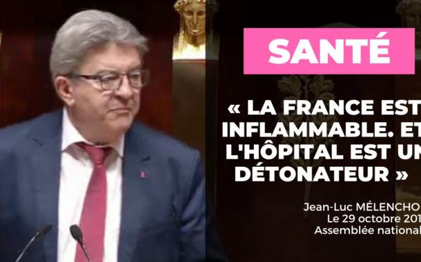 VIDÉO - «La France est inflammable. Et l'hôpital est un détonateur!»