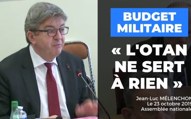 VIDÉO - « L'OTAN ne sert à rien »