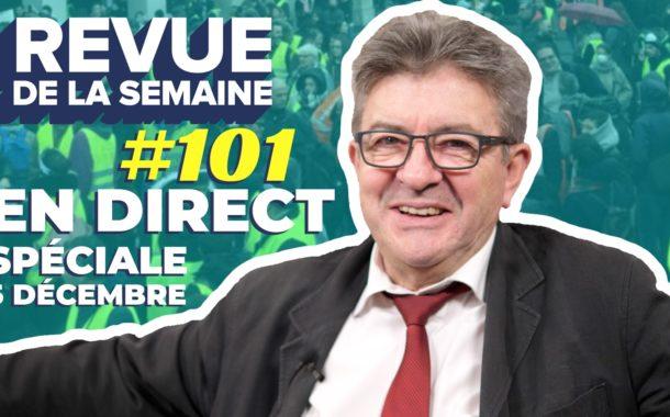 VIDÉO - #RDLS101 : grève, retraites, manifestations, médias, police, Macron, salaires