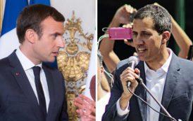 Macron et le Venezuelaaaaaaa! Un putschiste a l'Elysée