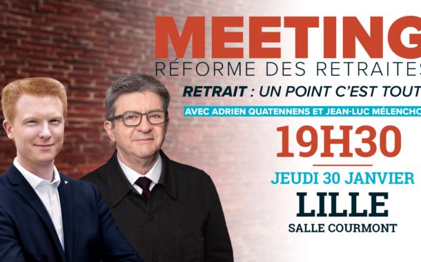 EN DIRECT - Meeting retraites avec Jean-Luc Mélenchon et Adrien Quatennens