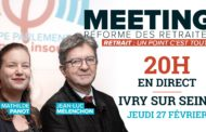 EN DIRECT - Meeting contre la réforme des retraites avec Mathilde Panot - #MeetingIvry