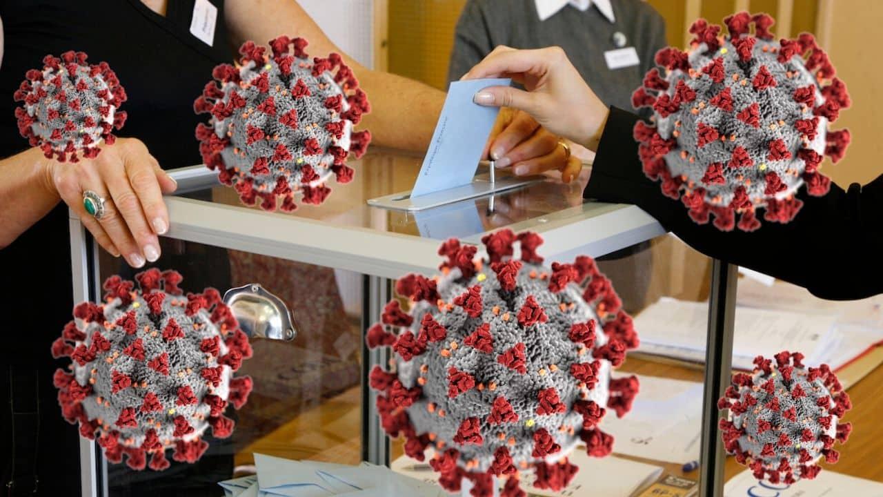 Soir de coronavirus sur les urnes