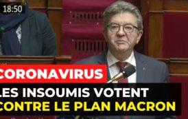 VIDÉO - Coronavirus : les insoumis votent contre le plan Macron