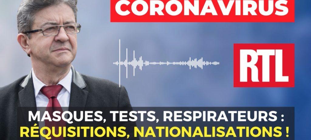 VIDÉO - Coronavirus - Masques, tests, respirateurs : réquisitions, nationalisations !