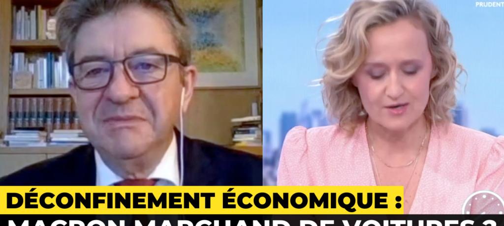 VIDÉO - Déconfinement économique : Macron marchand de voitures ?