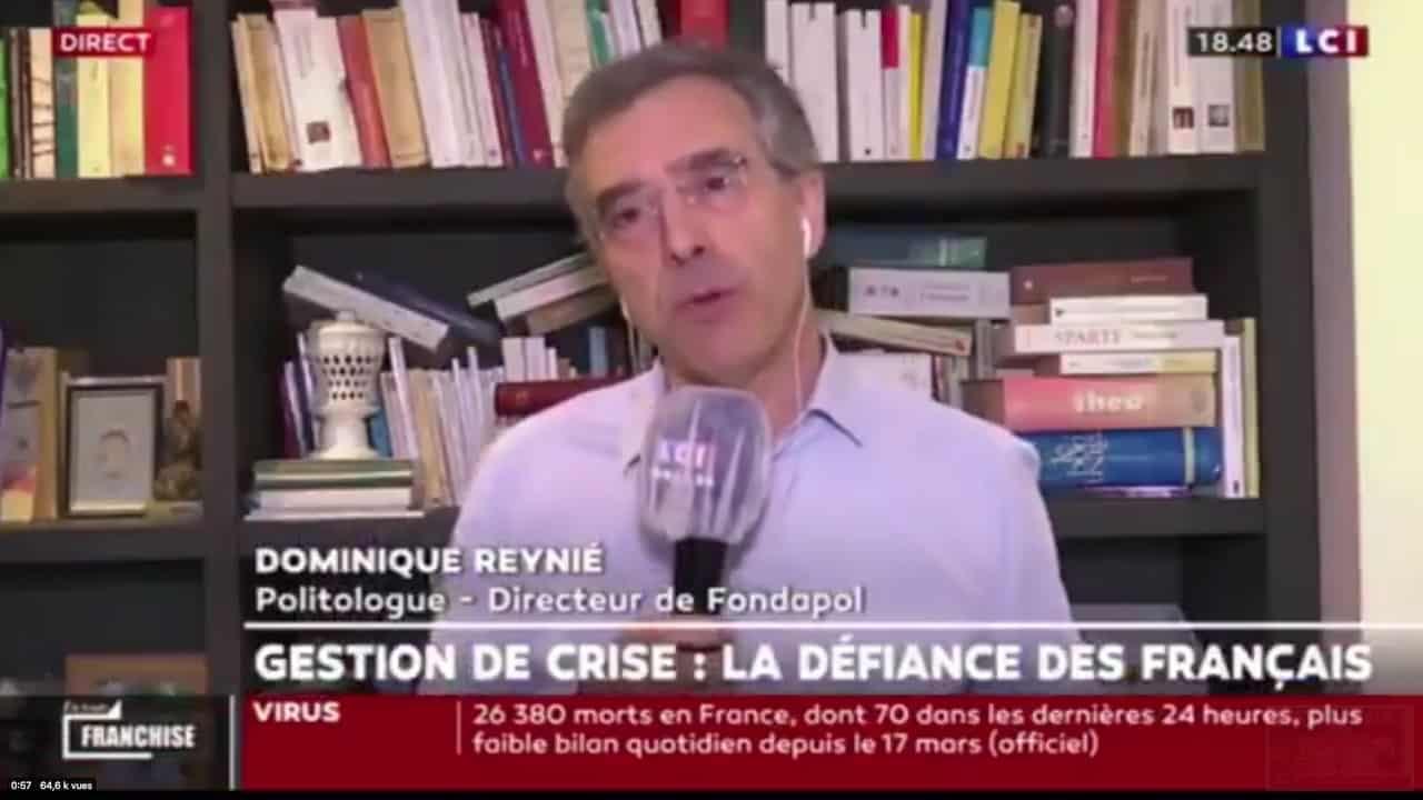 De quoi Dominique Reynié est-il le nom ?