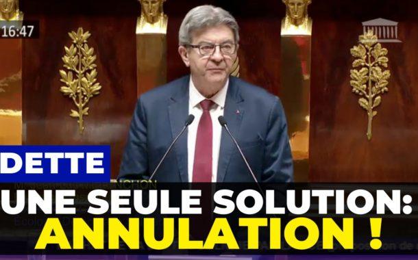 VIDÉO - Dette - Une seule solution : l'annulation !