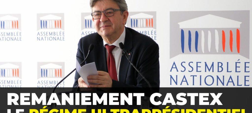 Remaniement Castex : le régime ultraprésidentiel - Conférence de presse