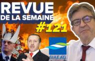 Revue de la semaine #121 : Sécurité, Covid19, écoles fermées, eau en Guadeloupe, incendies, tensions en Méditerranée
