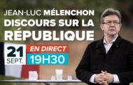 EN DIRECT - Discours de J-L Mélenchon sur la République - Lancement de l'institut La Boétie
