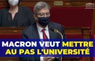 VIDÉO - Macron veut mettre au pas l'université !