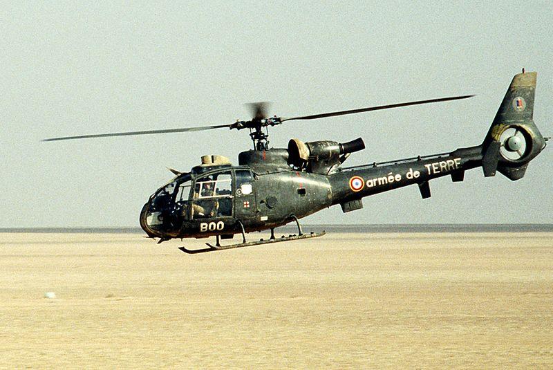 Question écrite sur une livraison trouble d'hélicoptères français au Togo