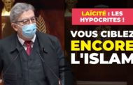 Vous ciblez ENCORE l'islam : hypocrites de la laïcité !
