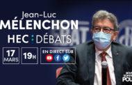 Mélenchon : Débat à HEC - #JLMHEC