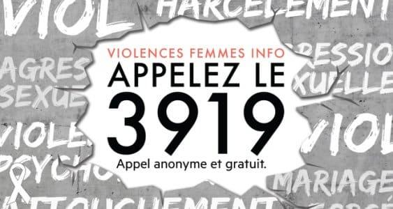 Question écrite - 3919, menace sur le numéro des femmes victimes de violences