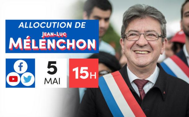 Allocution de Jean-Luc Mélenchon - 5 mai 1789 : ouverture des États généaux
