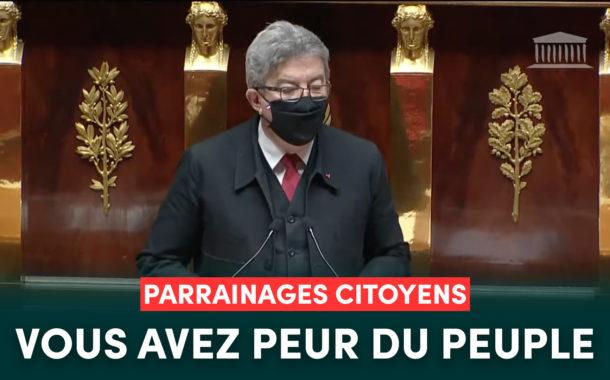 Parrainages citoyens : vous avez peur du peuple !