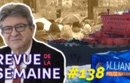 Revue de la semaine 138 : Manif de policiers / Arctique en danger / Meeting d'Aubin et actions de campagne