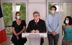 Élections juin 2021 : allocution de Jean-Luc Mélenchon