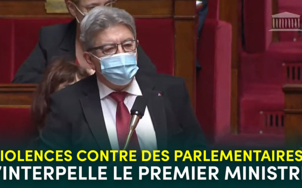 Violences contre des parlementaires : j'interpelle le Premier ministre