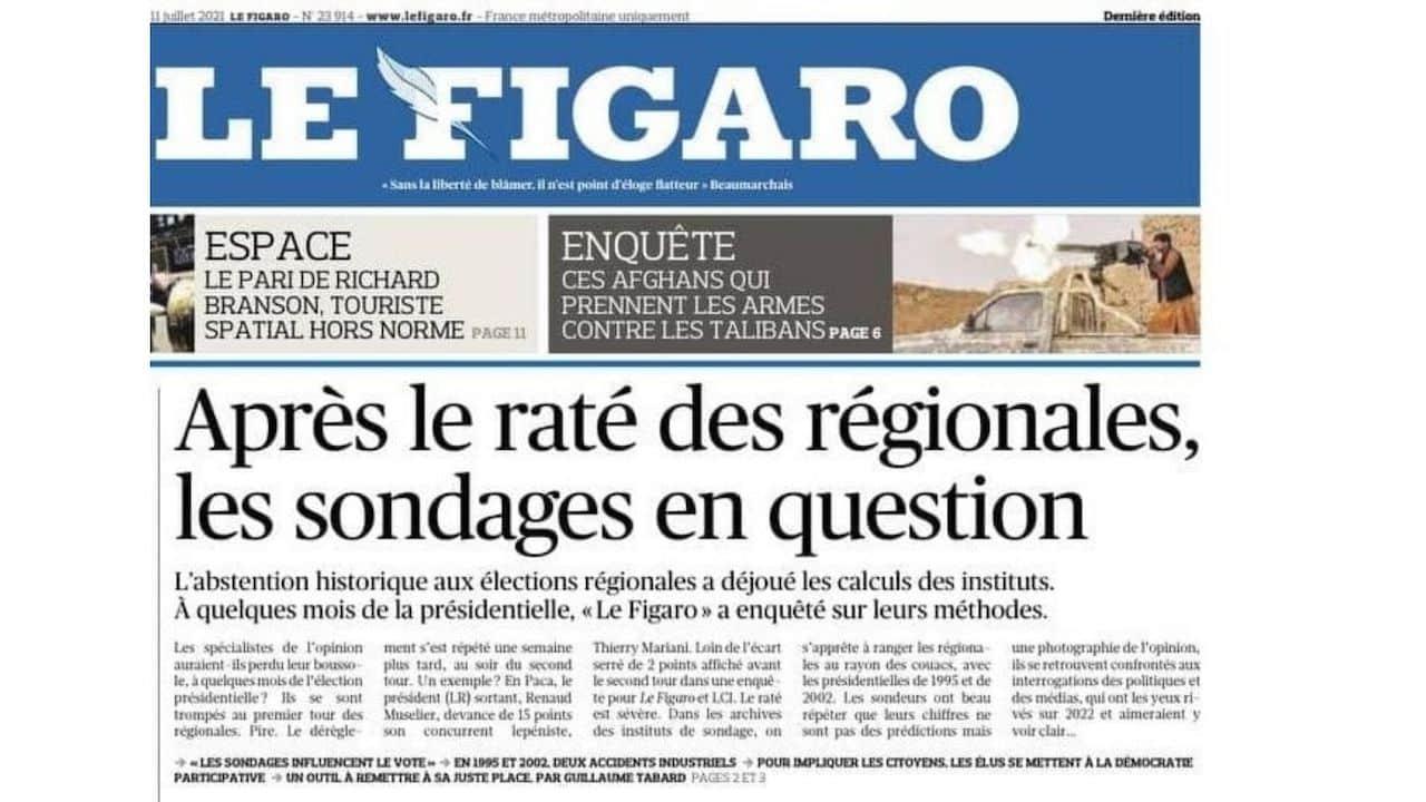 « Le Figaro » un jour...