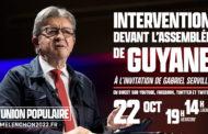 EN DIRECT - Intervention de Jean-Luc Mélenchon devant l'Assemblée de Guyane